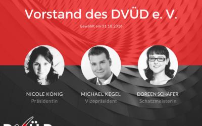 Neuer Vorstand des DVÜD e. V.