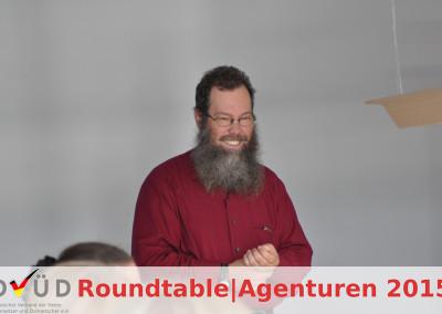 Moderator Andreas Rodemann, Beiratsvorsitzender des DVÜD e. V.