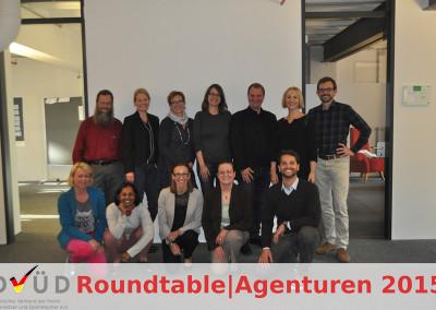 Die Teilnehmer des Roundtable|Agenturen