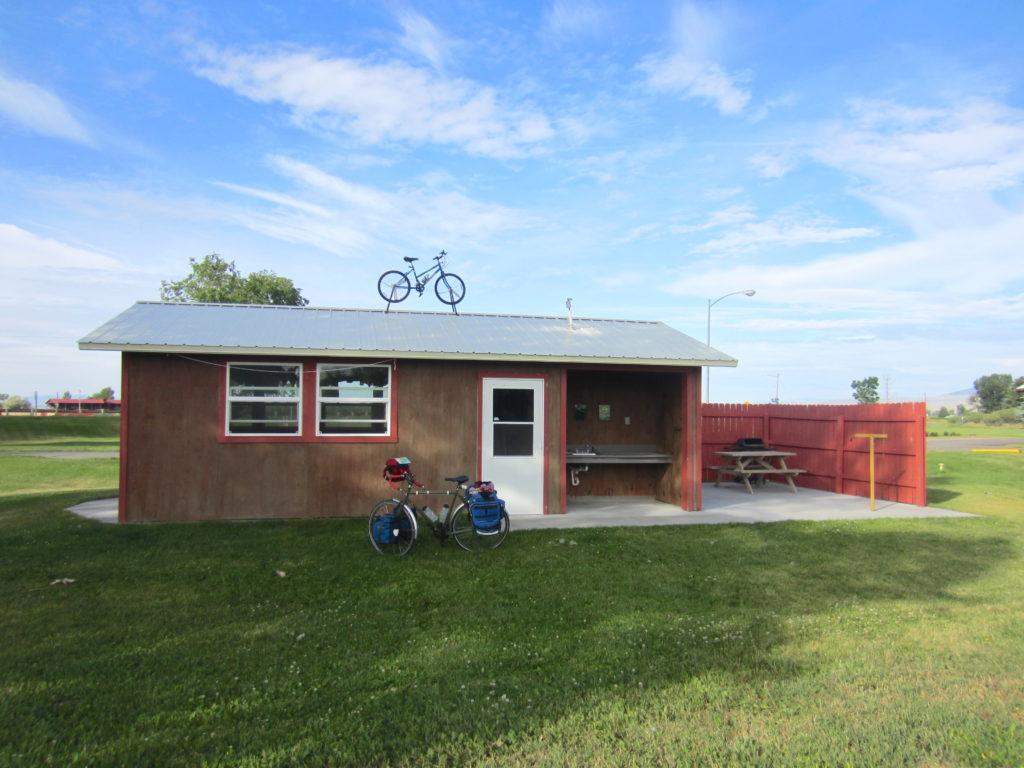 Fahrradstation in Nordamerika