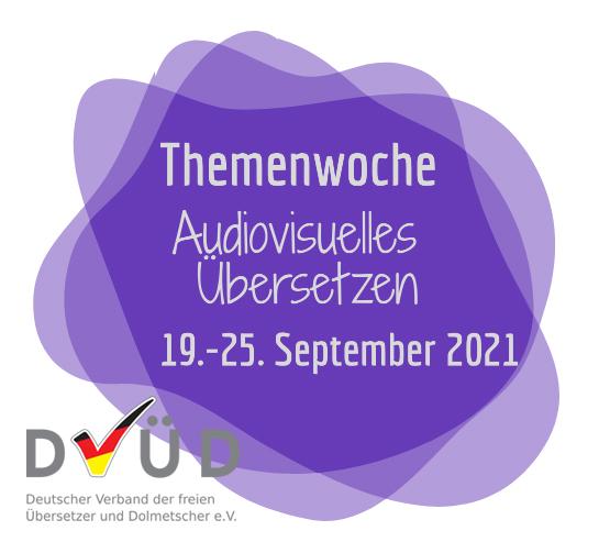 Logo für die Themenwoche AVÜ
